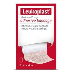 Leukoplast ps elastomull haft bandaż samoprzylepny 8cmx4m