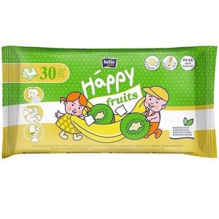Chusteczki Bella Happy, Kiwi i Banan 30 SZT