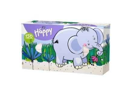 Chusteczki Bella uniwersalne Happy słonik 150 szt