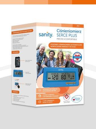 Ciśnieniomierz automatyczny Sanity Serce Plus naremienny