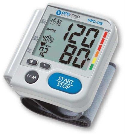 Ciśnieniomierz nadgarstkowy elektroniczny ORO-168