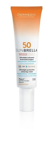 Dermedic Sunbrella krem do twarzy koloryzujący SPF 50 40g