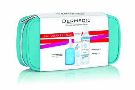 Dermedic kosmetyczka hydrain3 hialuro (serum nawadniające 30ml+krem pod oczy 15g+płyn micelarny 100ml)