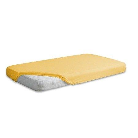 Multitex Sanipur prześcieradło Jersey 90x200 żółte