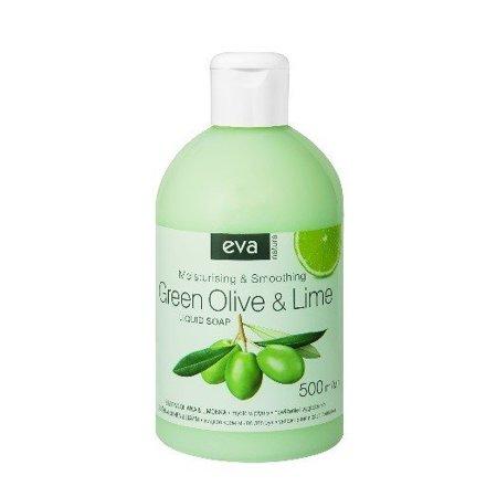 Mydło w płynie Zielona oliwka i limonka 500 ml zestaw 3 sztuki
