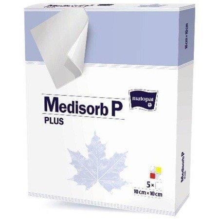 Opatrunek medycz. Medisorb P Plus 10x10cm 1SZT REF