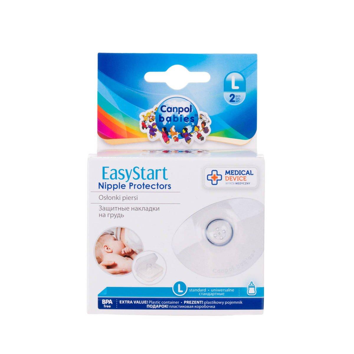Osłonki na piersi Canpol Babies EasyStart L 2szt.