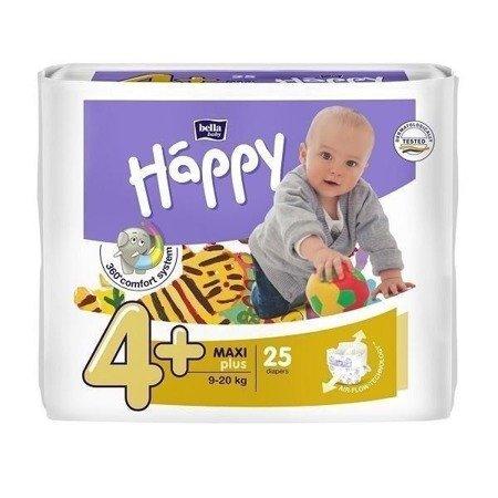 Pieluszki dla dzieci Happy Maxi Plus 25 SZT