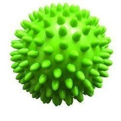 Piłeczka Rehabilitacyjna z kolcami 7cm zielona