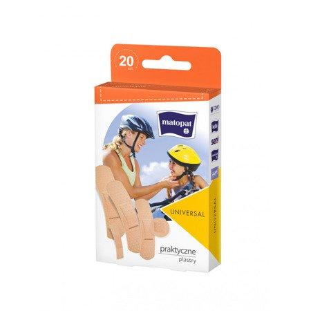 Plaster zestaw Universal 20 SZT z zawieszką