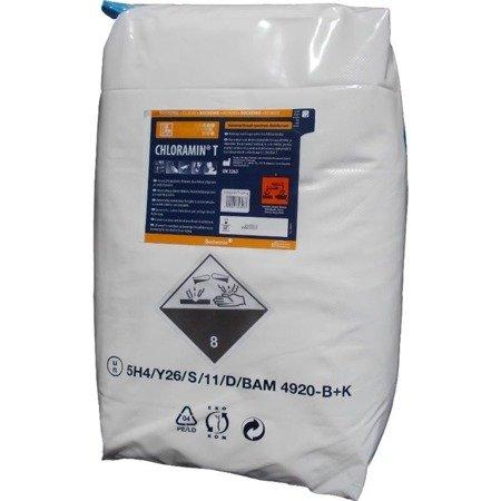 Proszek Dezynfekcyjny Chloramina T 25kg