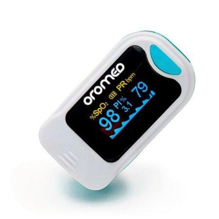 Pulsoksymetr napalcowy Oromed ORO-Pulse Blue