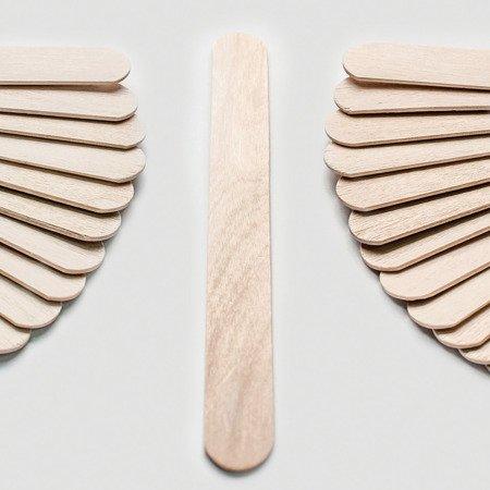 Szpatułki drewniane Laryngologiczne 100 SZT