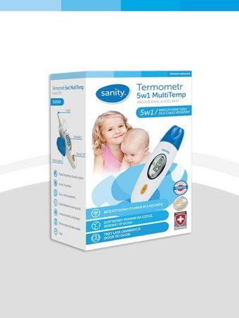 Termometr dla dzieci 5w1 MultiTemp Sanity