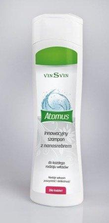 Vinsvin atomus szampon do włosów dla kobiet 200ml