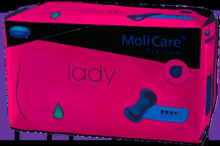 Wkłady anatomiczne Molicare Premium Lady Pad 3,5 kropli 14 SZT.