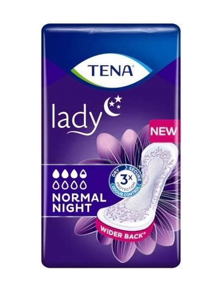 Wkłady anatomiczne Tena Lady normal night 10 szt