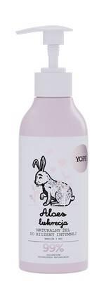YOPE płyn do higieny intymnej aloes i lukrecja 300 ml