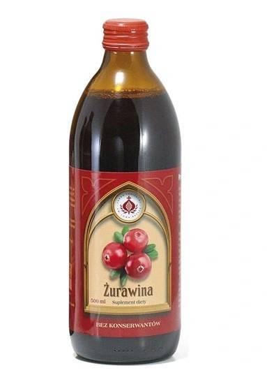 Bonifrates sok z żurawiny 500ml