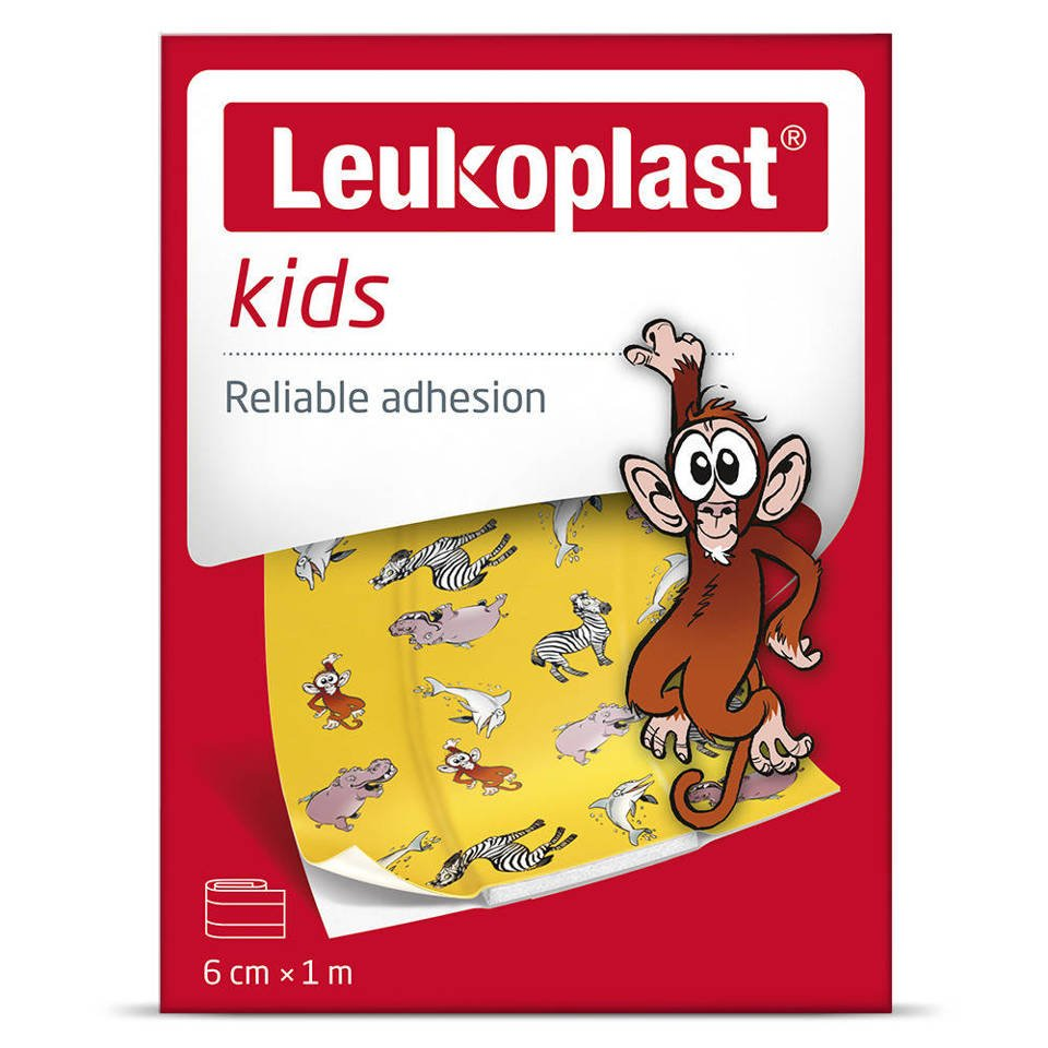 Leukoplast plaster kids 6cm x 1 m