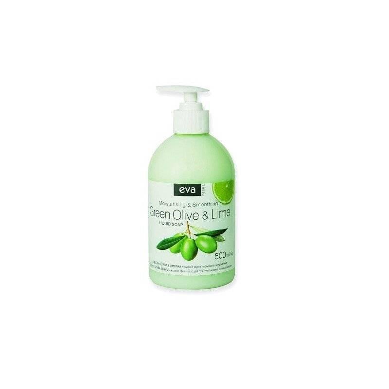 Mydło w płynie zielona oliwka i limonka 500ml z pompką zestaw