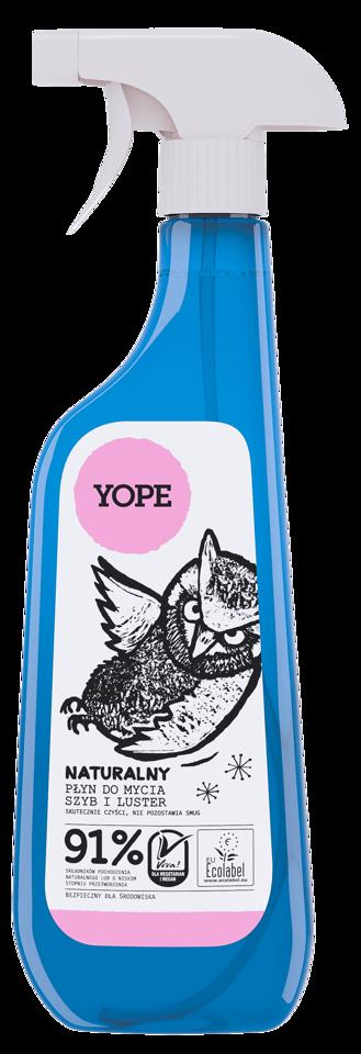 Yope płyn do mycia szyb i luster 750ml